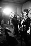 The Sex Pistols in Einhoven, Holland. 1977 Fotografisk tryk af Staff