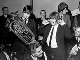 The Beatles in Liverpool 1964 Photographic Print by Daily Mirror