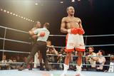 Chris Eubank V Nigel Benn Fight at the Nec in Birmingham, 1990 Reproduction photographique par Brendan Monks