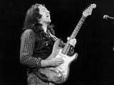 Rory Gallagher in Concert, 1982 Fotografisk trykk av Dan G