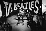 Ed Sullivan Television Programme with the Beatles 1964 Fotografisk tryk af  Staff