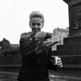 Tippi Hedren Reproduction photographique par  Staff