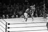 Muhammad Ali Vs Joe Frazier 1971 Fotografisk tryk af Monte Fresco