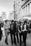 The Rolling Stones on Broadway, 1964 Fotografisk trykk av Stan Mays