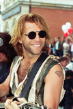 Jon Bon Jovi Fotografisk tryk af Bill Rowntree