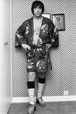 Keith Moon of the Who 1975 Fotografiskt tryck av Allan Olley