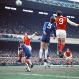 Arsenal V Chelsea League Match April 1971 Photographic Print by  Staff