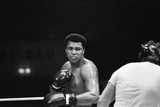 Muhammad Ali Sparring Ahead of His Fight with Richard Dunn Fotografisk tryk af Staff