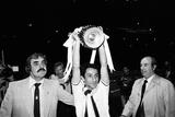 Tottenham Hotspur V Manchester City 1981 Fotografisk tryk af Daily Mirror