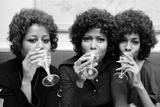 The Supremes, 1971 Fotografisk tryk af Peter Stone