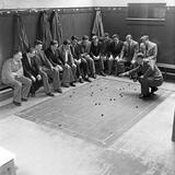 Southampton Fc 1949 Reprodukcja zdjęcia autor Daily Mirror