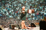 R.E.M. at Galpharm Stadium Photographic Print by  Staff