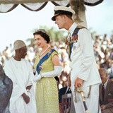 Queen Elizabeth Ii with Her Husband Prince Philip 1961 Photographic Print by Freddie Reed