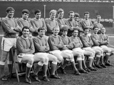 Everton Squad Pose for a Group Photograph at Goodison, 1966 Photographic Print by  Staff