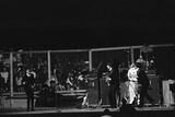 Beatles performing San Francisco August 1964 Photographic Print by Arthur Sidey