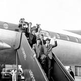 """Premier of """"A Hard Day's Night"""" 1964 Fotografisk tryk af  Staff"""
