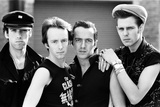 Punk Rock Group the Clash. 21st April 1982 Photographic Print by  Staff