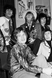 The Rolling Stones Backstage at London Palladium 1967 Fotografisk trykk av Ray Weaver