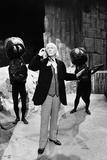 Actor William Hartnell - the first Doctor, 1965 Fotografiskt tryck av Sunday Mirror