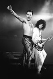 Rock Group Queen in Concert at Wembley Arena 1984 Fotografisk trykk av Nigel Wright