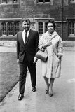 Elizabeth Taylor and Richard Burton Photographic Print by Eddie Waters