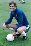 Chelsea Footballer Peter Osgood 1971 Fotografisk trykk av  Sullivan