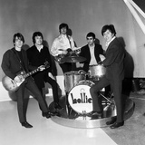 The Hollies 1966 Fotografisk tryk af Stubbs