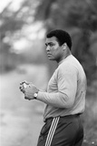 Muhammad Ali Is Fighting His Way Back to Fitness Reproduction photographique par  Staff