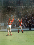 England International Football 1960S Fotodruck von John Varley