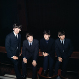 The Beatles 1964 Fotodruck von John Varley