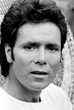 Cliff Richard Celebrates 25 Years in the Music Business. 1983 Fotografisk tryk af Mike Maloney
