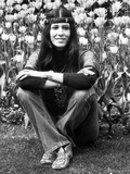 Rita Coolidge, in Regents Park, London, 5th May 1971 Photographic Print by Daily Mirror