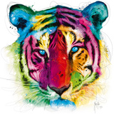 Tiger Pop Print by Patrice Murciano
