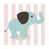 Happy Baby Animals I Prints by  SD Graphics Studio
