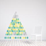 Christmas Drops - 183 Pieces Muursticker