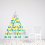 Christmas Drops - 183 Pieces Wall Decal