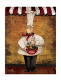 The Gourmets III Premium Giclee Print by Elizabeth Medley
