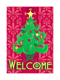 Christmas Tree Welcome Prints by Andi Metz
