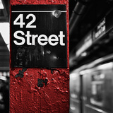 42nd St. Square Photographic Print by Susan Bryant