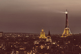 Paris from Notre Dame Photographic Print by Shelley Lake