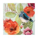 Beautiful Bird II (Love) Premium Giclee Print by Patricia Quintero-Pinto