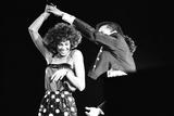 Whitney Houston in Birmingham 1993 Fotografisk tryk af Williams
