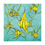 School of Fish III Premium Giclee Print by Gina Ritter
