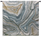 Agate Abstract II Wall Tapestry - Small Wall Tapestry by Megan Meagher