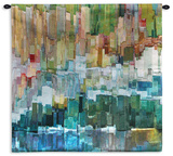 Glacier Bay III Tapestry - Small Wall Tapestry by James Burghardt