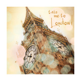 Take Me to London Premium Giclee Print by Emily Navas