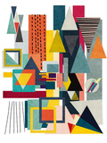 Geometry Plakater af Vincent Oriol