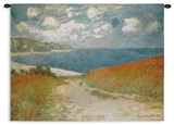 Path Through the Corn at Pourville, c.1882 Wall Tapestry Tapiz por Claude Monet