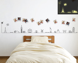 Travel Around the World Glow in the Dark Autocollant mural