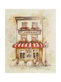 Cafe Du Paris II Kunstdrucke von Patricia Pinto